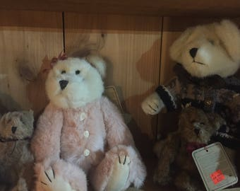 Winter Collection Boyds Bears lot