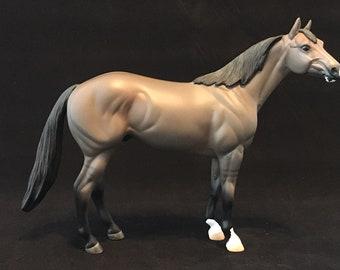 CUstom Quarter Horse Breyer