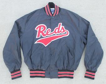 Vintage 90's Cincinnati Reds MLB Baseball Jacket Size XL