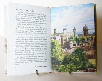 Ladybird Book Of London 1961 Vintage Book with Illustrations Travel Hardback UK England guide