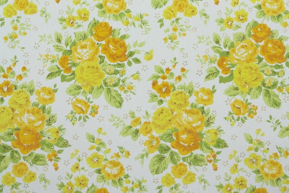 1960s Vintage Wallpaper By The Yard