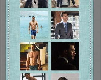 Dakota Johnson Jamie Dorman Fifty Shades Beach Towel  #1172