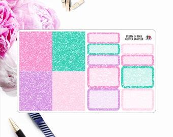Pretty in Pink // Glitter Sampler