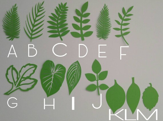 Items similar to wild jungle leaves safari table decorations background prop baby shower - Deco table jungle ...