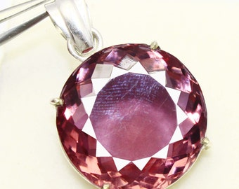 78.80Ct Certified Color Changing Alexandrite Pendant 925 Solid Sterling Silver AQ979