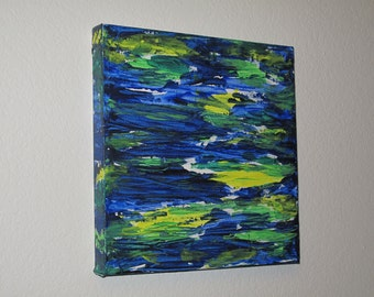 Sea Life abstract painting