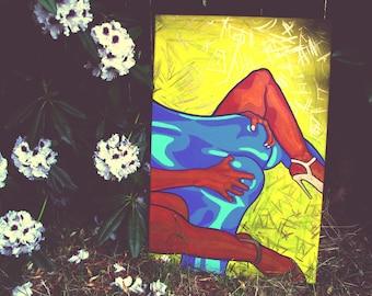 "Jazz [acrylic on canvas, 20x30""]"