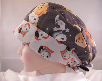 Women's Pixie Scrub Hat A Boy And His Dog