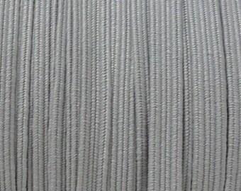 Gray 6 mm elastic Ribbon
