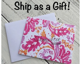Ship as a Gift! Handwritten note and entire purchase mailed DIRECTLY to the gift recipient! Use on any HoneyLove Boutique purchase!