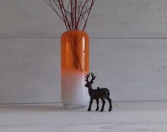 Silea Émerainville France vintage glass vase