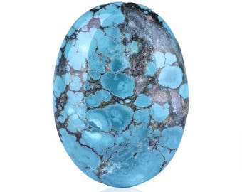 New,Turquoise Stone Cabochon,35x25x7mm,7.9g,-C349