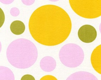 Heather Bailey, Nicey Jane, Dream Dot in Clementine (HB17) - 1 Yard Clearance