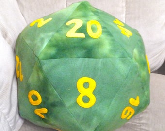 Large D20 Dice Plush