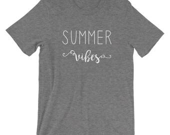 Summer Vibes tee | Summer shirt | Summer t-shirt | Summer apparel | Summer time tee | Summer time tee | Comfy summer tee | vibes shirt