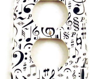 Light Switch Cover  Light Switchplates Outlet in   High Note (104O)