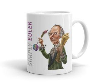 Simply Euler White Ceramic Mug