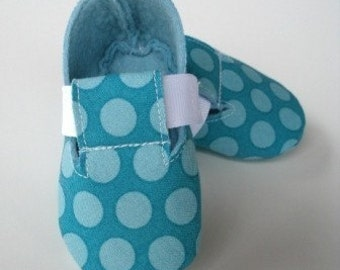 Precious Monkey - Plain Baby Booties - Shoes - PDF e-Pattern Sewing