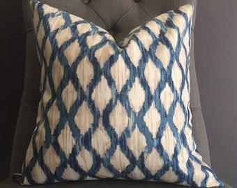 Pillow Cover, Ikat Pillow Cover, LUNA