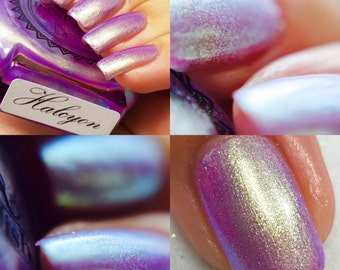 "P•O•P Polish ""Halcyon"" Nail Polish Quick Dry Ethereal Winter Iridescent Tags/ DuoChrome Mirror MultiChrome"