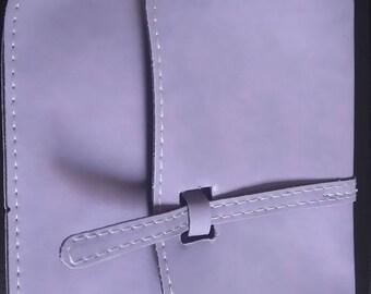 Violet color shoulder bag