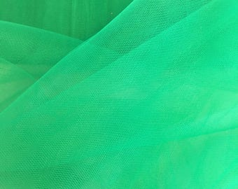 "Esmerald Tulle Fabric 56"" Wide Per Yard"