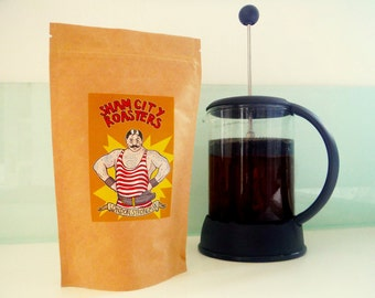 """Filter Coffee, Freshly Roasted - """"London Strongman"""" Blend From Sham City Roasters, Specialist Craft Coffees Roasted In London"""