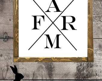 Rustic Farmhouse Printable, Farm, DIY Prints, Rustic Decor, Fixer Upper, Wall Art, Gallery Wall
