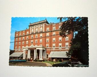 Charlottetown Hotel Prince Edward Island Postcard / Charlottetown Postcard /  Vintage Hotel Postcard