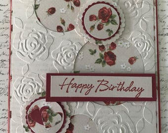 Happy Birthday - Handmade Card