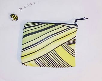 Makeup pouch Yellow makeup pouch