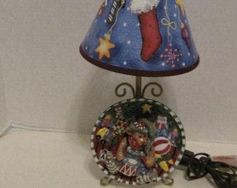 Christmas Child Lamp