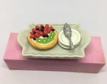 Kiwi Berry Tart Ring