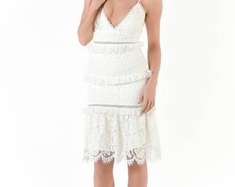 Blissful Lace Dress