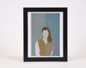 Simon and Kaylee Firefly-inspired Print