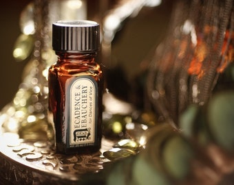 Decadence and Debauchery™ - natural perfume oil with resins, tobacco, blood orange, bergamot, violet, vanilla, woods