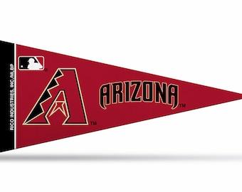 "8 Pack Arizona Diamondbacks MLB Mini Pennants, 4"" x 9"""