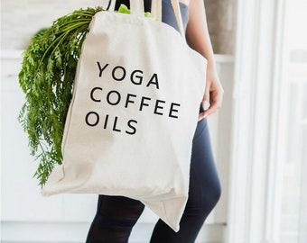 essential oil gift, there's an oil for that, oily mama, oily bag, essential oils bag, essential oils, tote bag, EOs, young living, doterra,