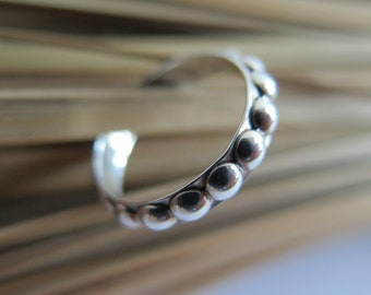Sterling silver band ring. Hand made, one of a kind. Size 5 1/2