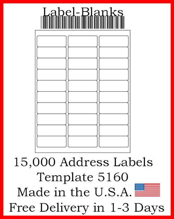 laser    ink jet labels 500 sheets 1 x 2 5  8