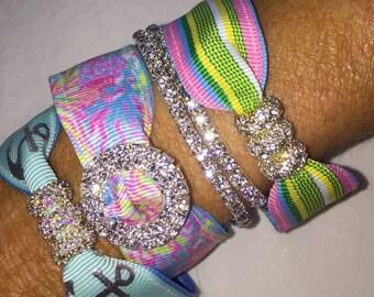 Preppy Summer Beach  Bracelet Set