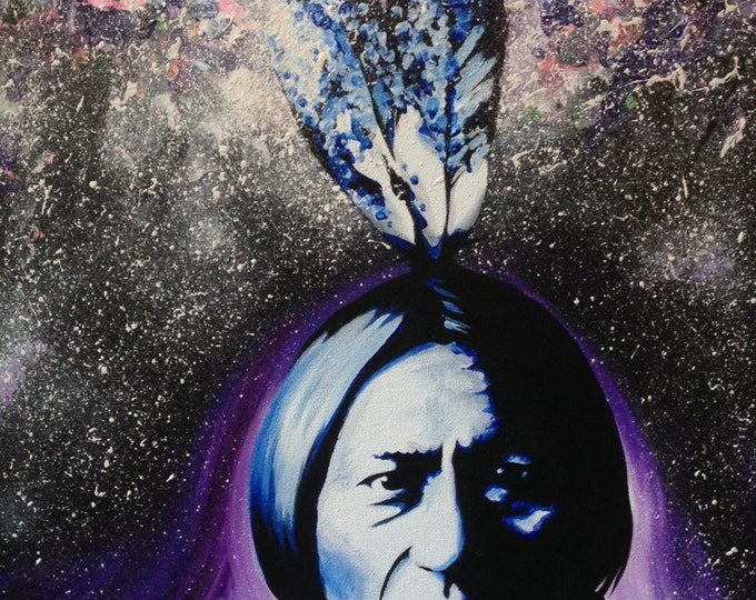 Cosmic Sitting Bull . Prints . 2015