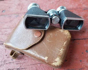 Vintage Occupied Japan Binoculars with Leather Case