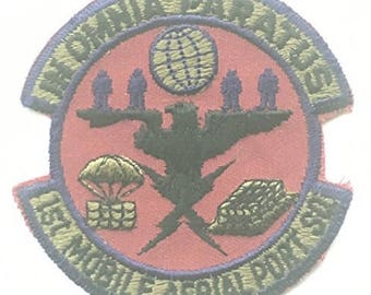 No.1 Squadron RAF Royal Air Force Mobile Aerial Port Military Embroidered Patch
