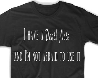 Death Note Anime T-shirt