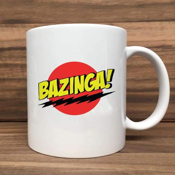Coffee Mug - Bazinga - Double Sided Printing 11 oz Mug