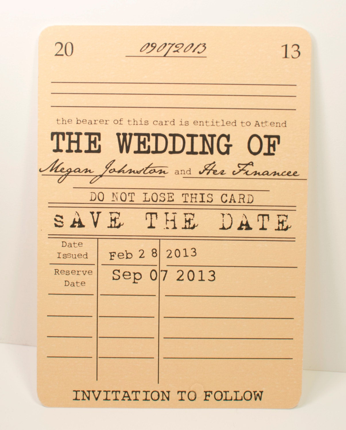 Vintage library save the date card literary theme zoom maxwellsz