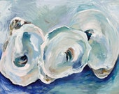 Point Oysters, 8.5x11 Sig...
