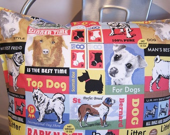 Top Dog cushion cover