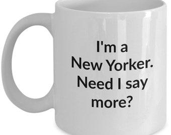 New Yorker Mug
